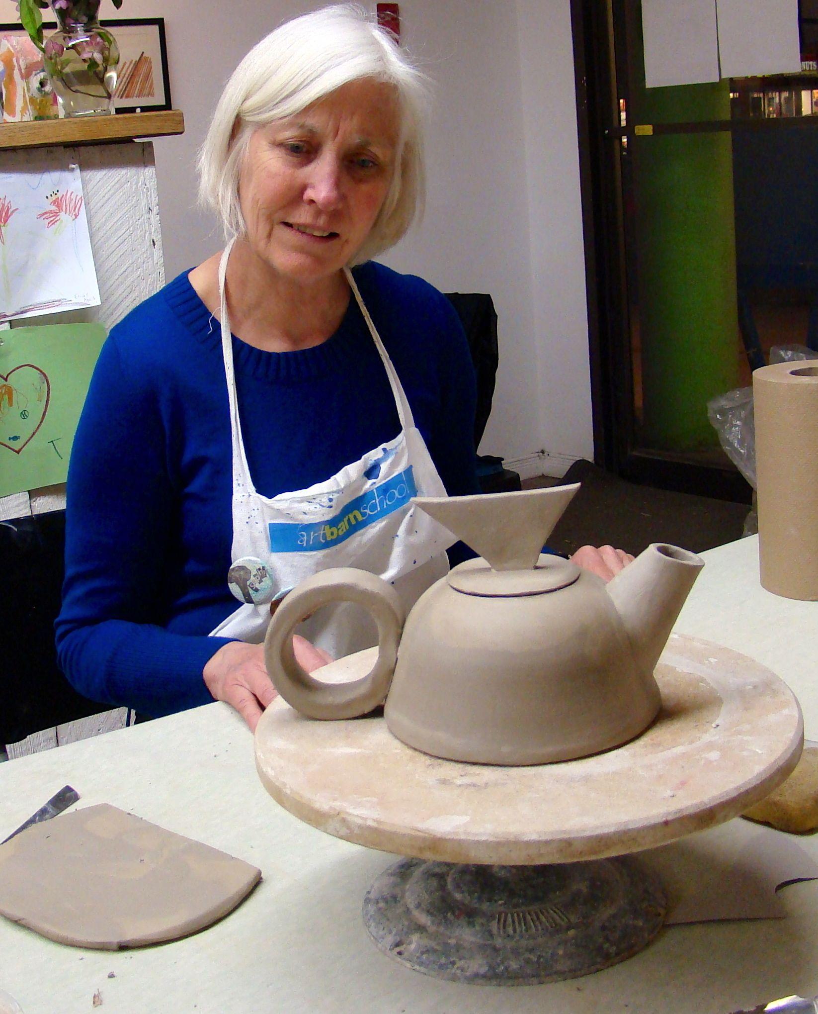 Mary teapot